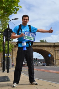 Hitching4Cancer: The Route